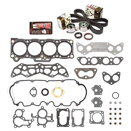 Amazon.com: Evergreen HSTBK6004 Head Gasket Set Timing Belt Kit 88-92 Ford Probe Mazda MX6 626 2.2 SOHC 12V F2: Automotive