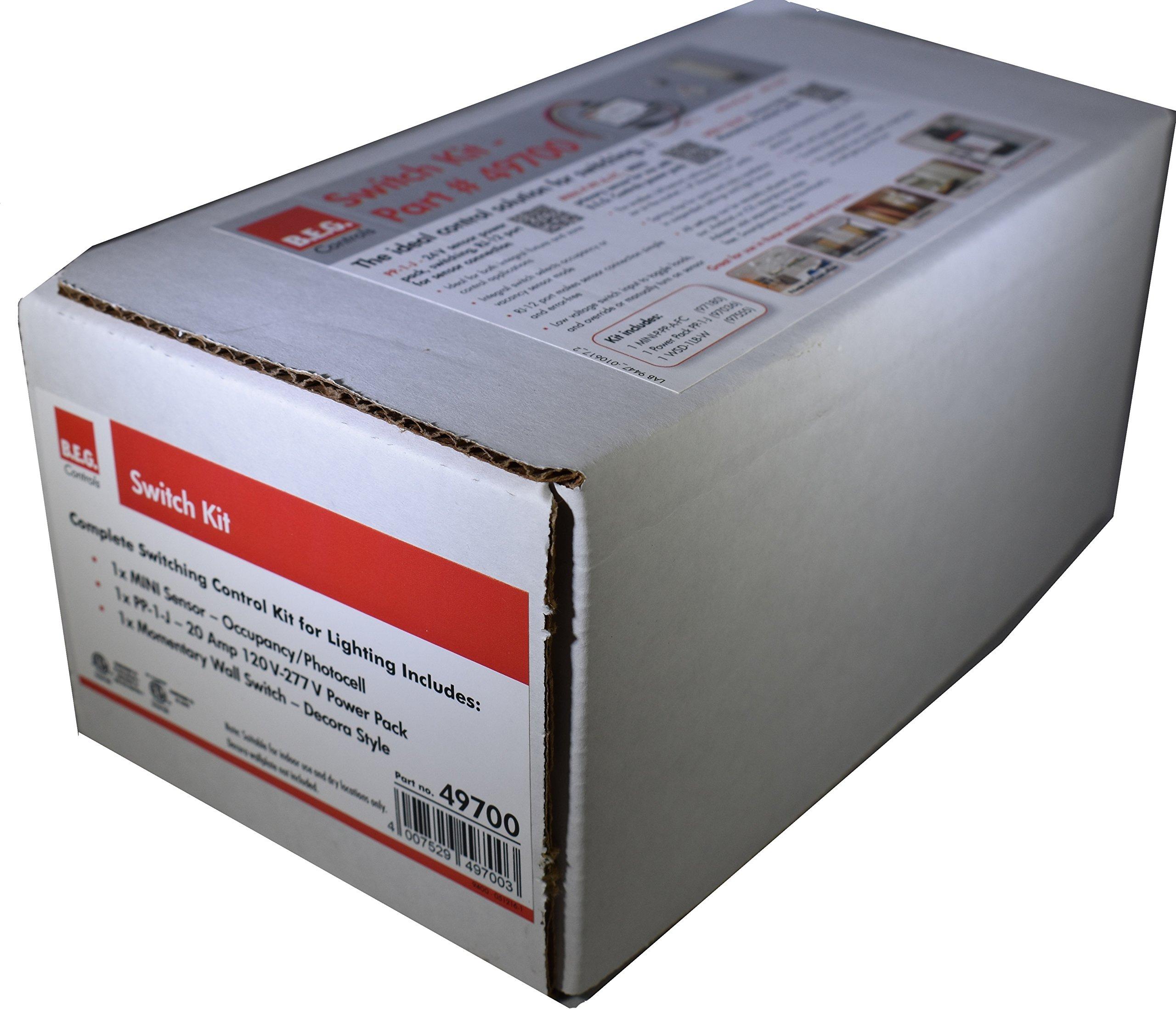 Mini Motion/Daylight Ceiling Sensor-Switch Kit