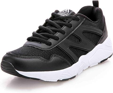 AX BOXING - Zapatillas de Running de Sintético para Hombre Verde Verde, Color Verde, Talla 44 EU: Amazon.es: Zapatos y complementos
