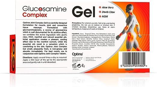 Norma de condroitină și glucozamină, Meniu cont utilizator