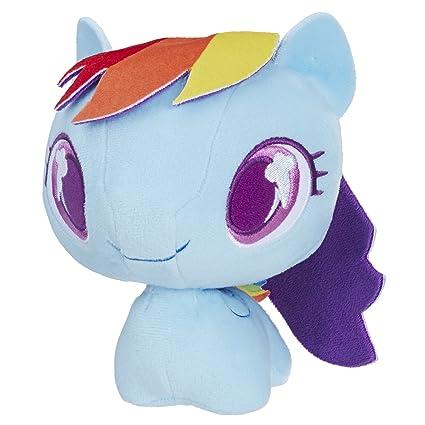 084187d24c4 Amazon.com  My Little Pony Rainbow Dash Cutie Mark Bobble Plush ...