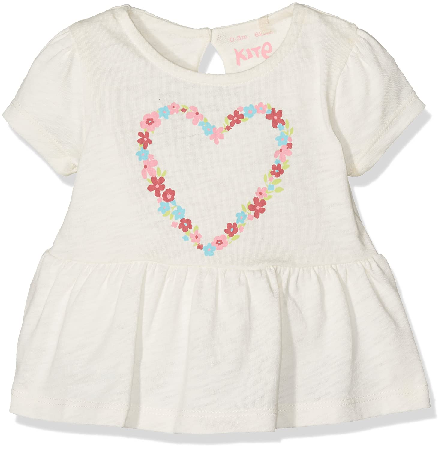 Kite Baby Girls' Heart Frill Top Blouse BG423