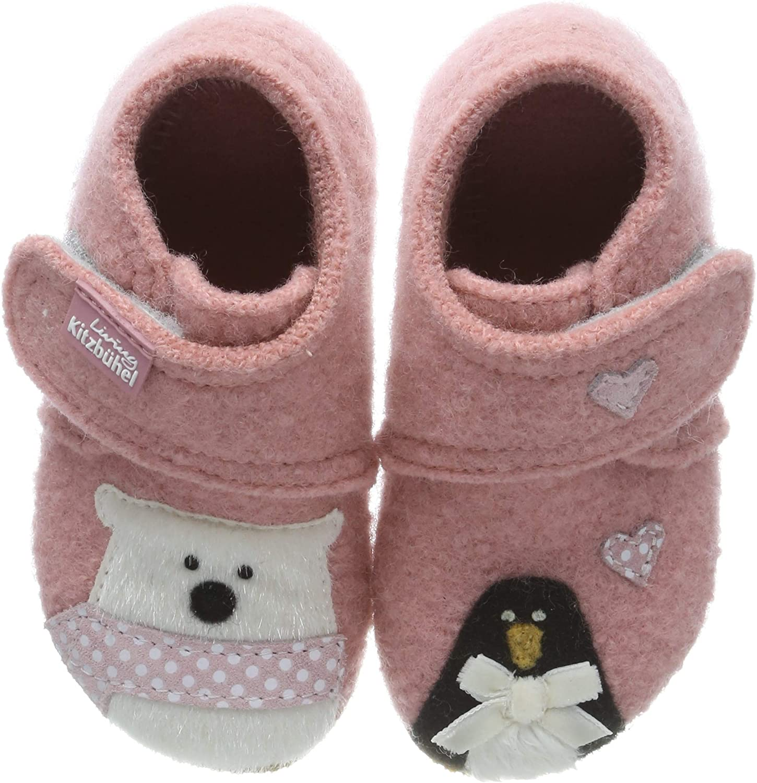 Living Kitzb/ühel Babyklettschuh Eisb/ã/¤r /& Pinguin in Love Chaussons b/éb/é Fille