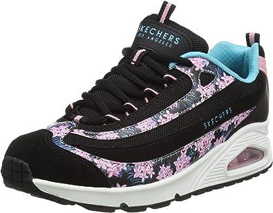 Skechers Uno Midnight Blooms, Zapatillas para Mujer: Amazon.es: Zapatos y complementos