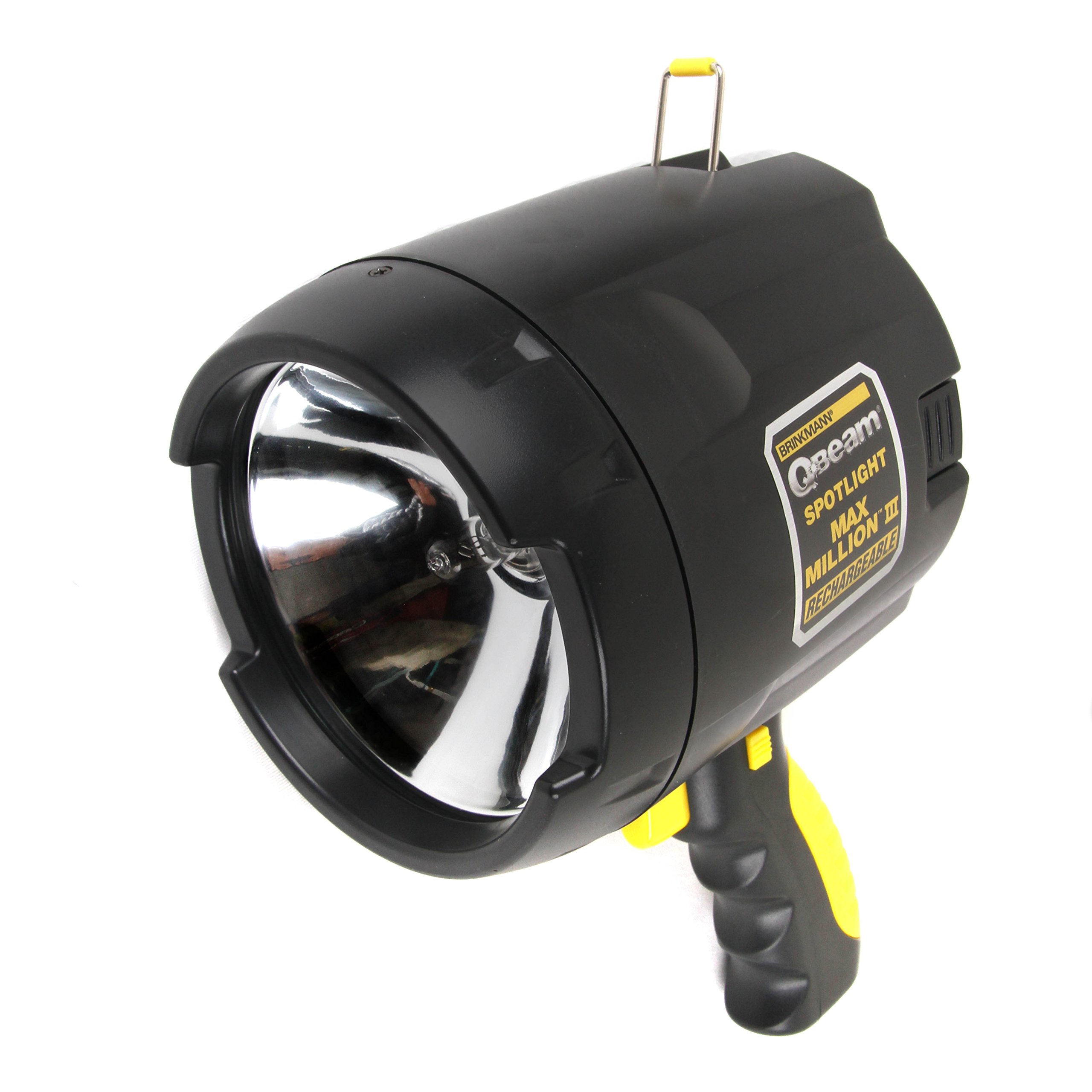 Brinkmann FBA_9507440 QBeam 800-2380-W Max Million III Rechargeable Spotlight Offroad Automotive/Garage/Emergency/Boating/Fishing/Hunting/Camping/Hiking/Patrolling