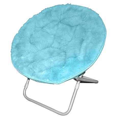 Superieur Rock Your Room Faux Fur Saucer Chair