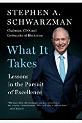 What It Takes: Lessons In The Pursuit Of Excellence Hardcover