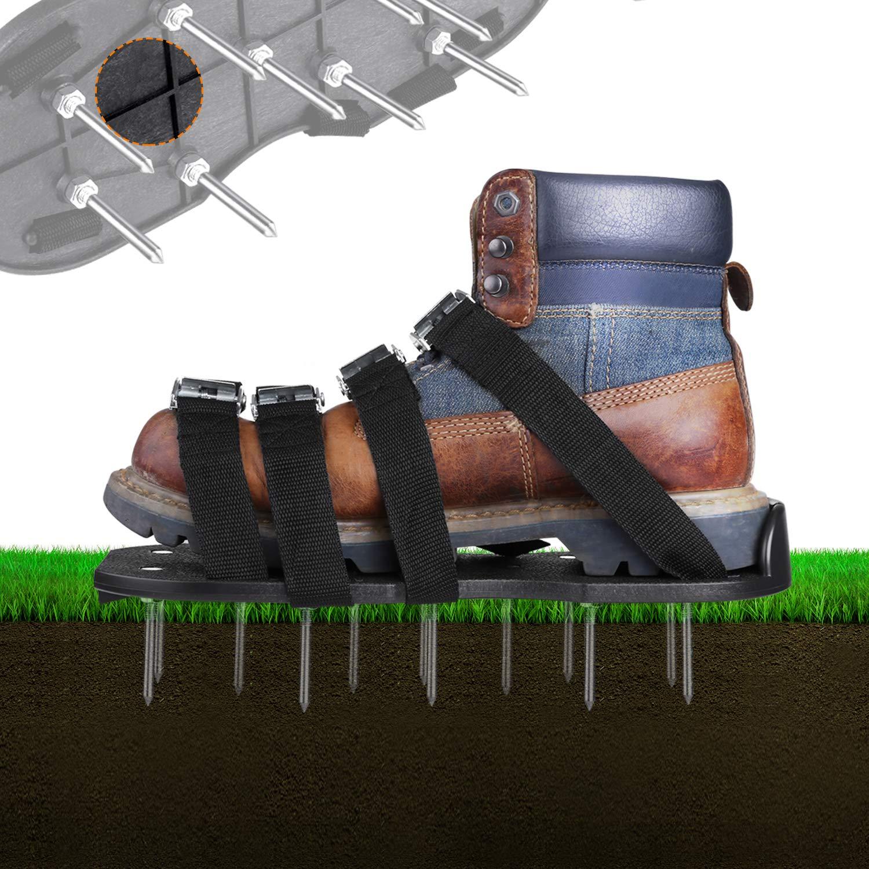 TACKLIFE scarpe da prato da giardino