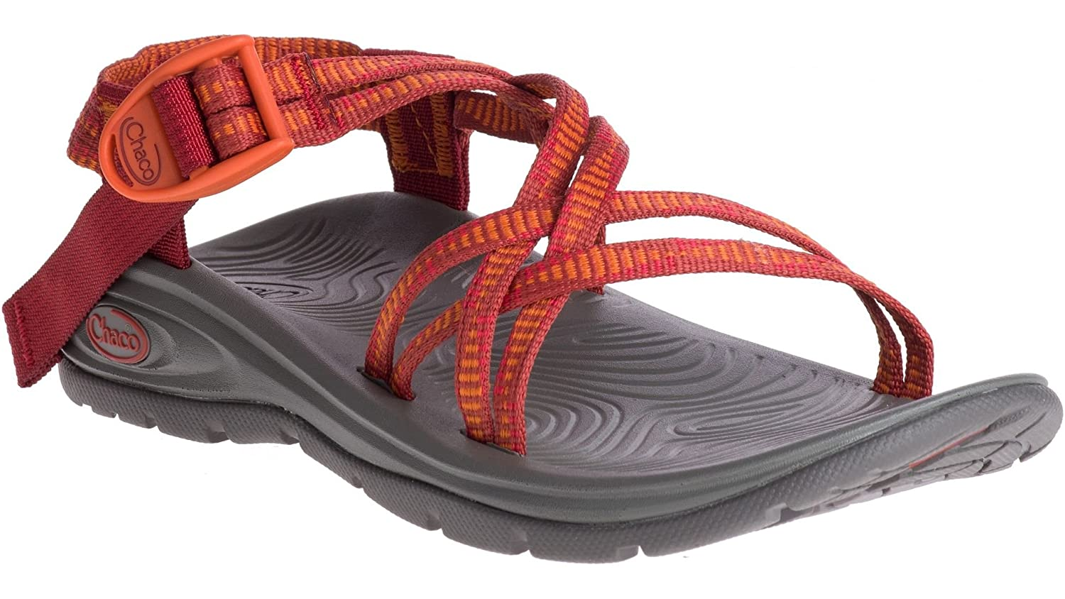 Chaco Women's Zvolv X Athletic Sandal B071K7SVDW 7 B(M) US|Grouped Poppy