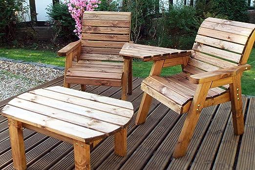 Compañero de jardín asiento – conversación Set – Patio al aire ...