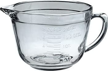 Anchor Hocking 2-quart Ovenproof Glass Mixing Bowl