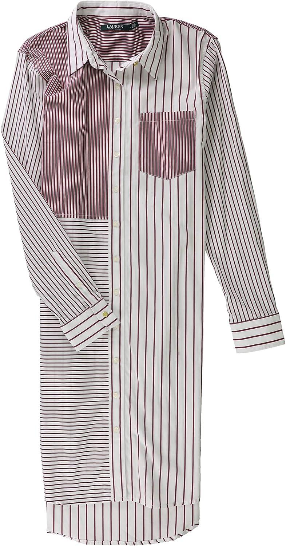 Lauren by Ralph Lauren vestido de camisa para mujer - Blanco - Small: Amazon.es: Ropa y accesorios
