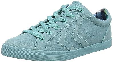 Hummel Deuce Court Womens LO, Sneakers Basses Femmes - Vert - Grün (Mint  6719