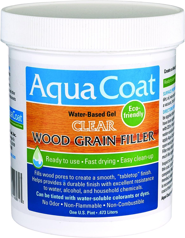 Aqua Coat Fast Drying Water Based Wood Grain Filler