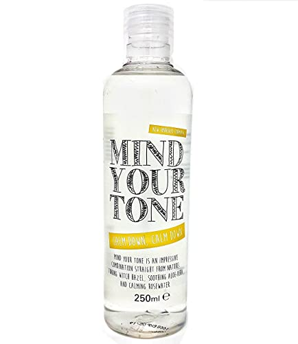 *NEW FORMULA* Mind Your Tone - Witch Hazel, Aloe Vera and Rosewater Toner - 250ml - whytheface