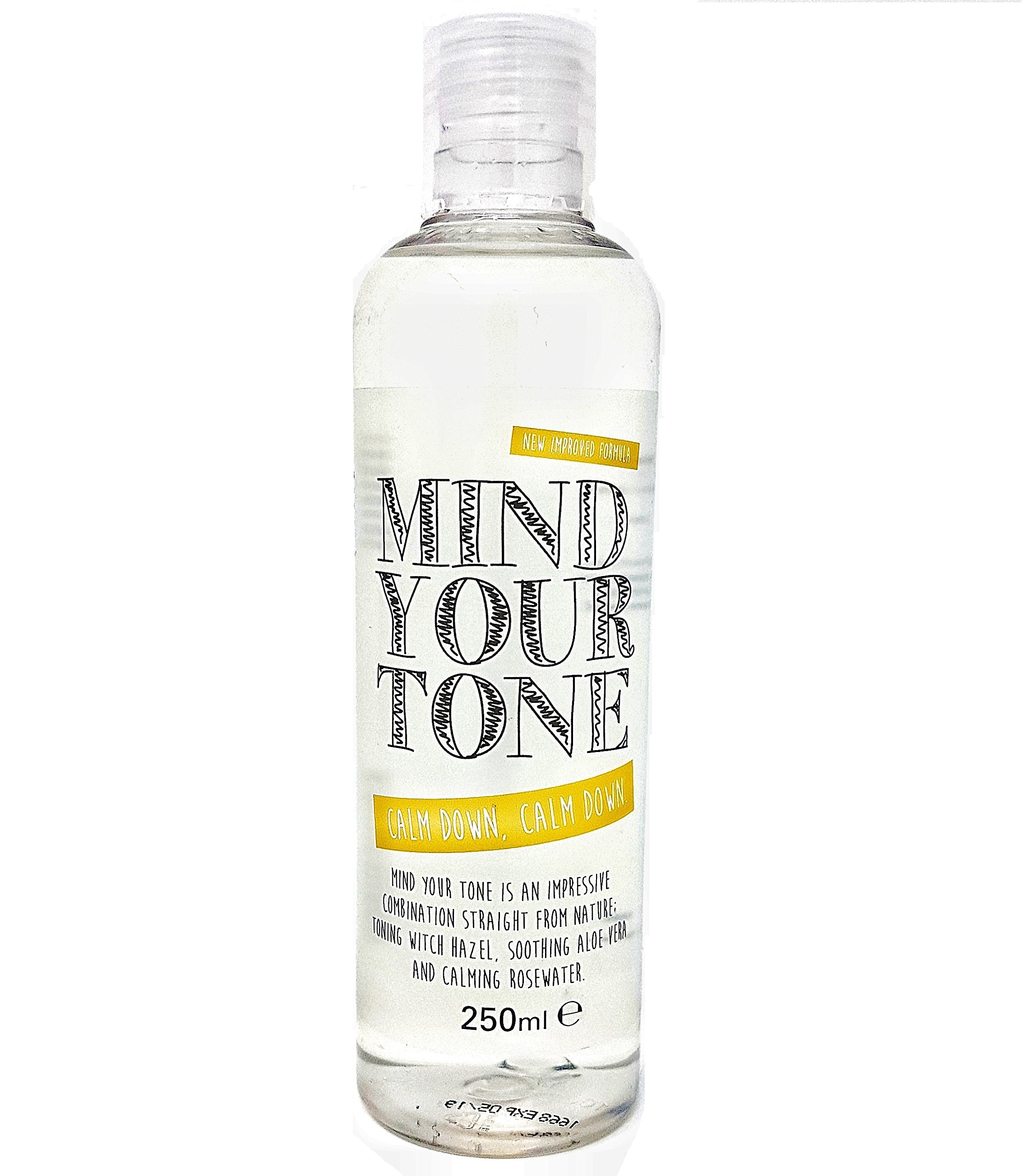 Mind Your Tone - Witch Hazel, Aloe Vera and Rosewater Toner - 250ml - whytheface | For normal and oily/combination skin
