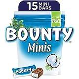 Bounty Minis Milk Chocolate Mini Bars, Pouch, 427.5g (15 pcs)