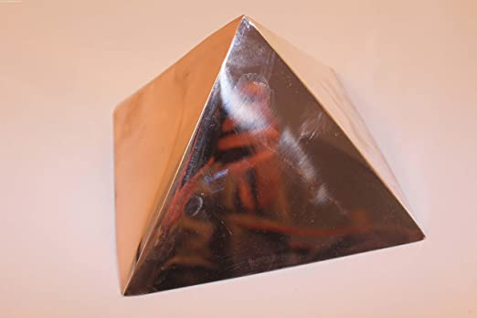 Copper Meditation Pyramid for Self Healing and Heart Chakra Activation