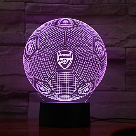 Amazon.com: KUKULE Fc West Ham United - Lámpara de mesa de ...