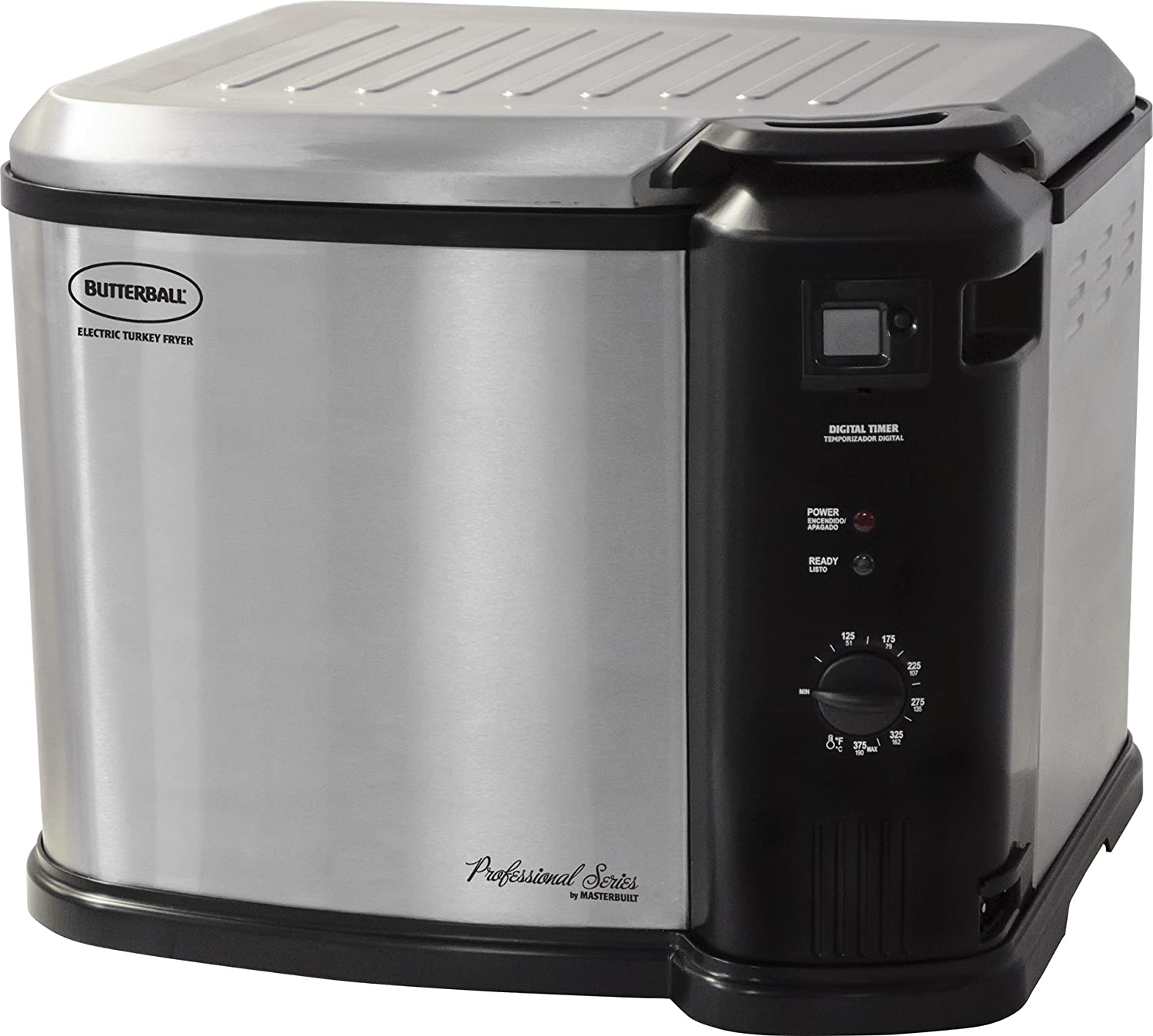 Masterbuilt 23011114 Butterball Indoor Electric Turkey Fryer, XL
