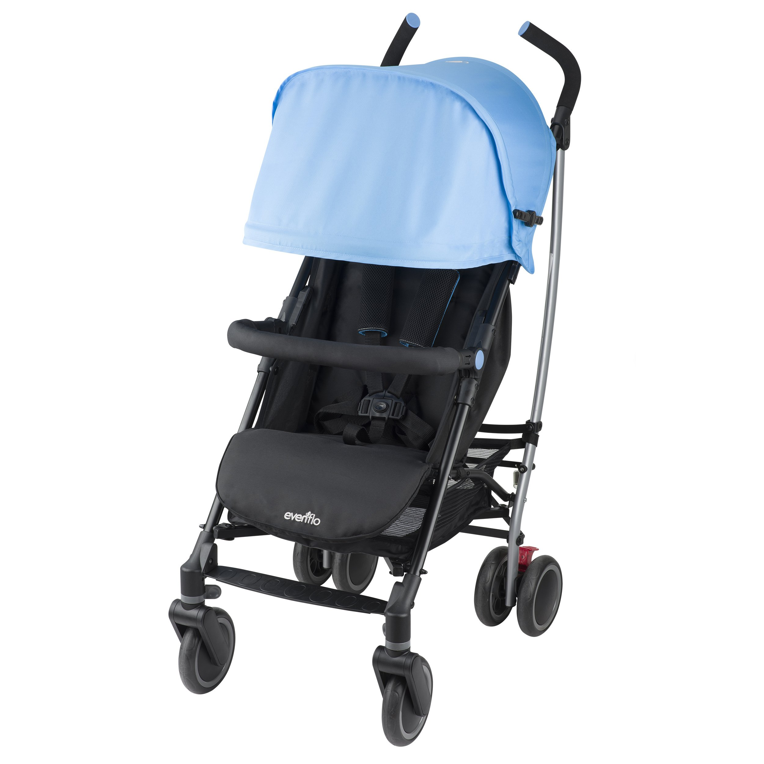 Evenflo Cambridge Stroller, Sky Blue by Evenflo (Image #4)