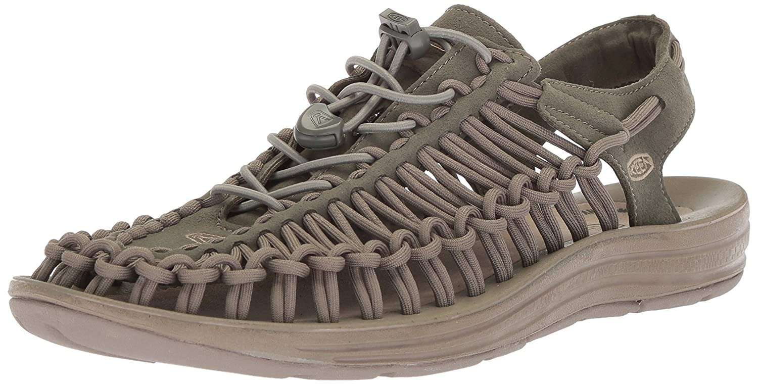 KEEN Men's Uneek Sandal B071GKRJ6Q 8.5 D(M) US|Dusty Olive/Brindle