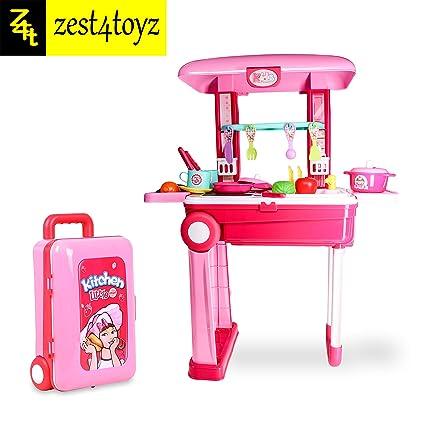 Buy Zest 4 Toyz 2 In 1 Little Chef Kids Kitchen Play Set