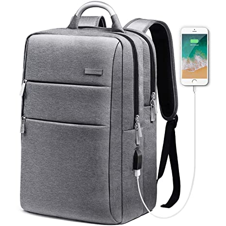 34d2b4c980ed Amazon.com  HOMIEE Laptop Backpack with USB Charging Port