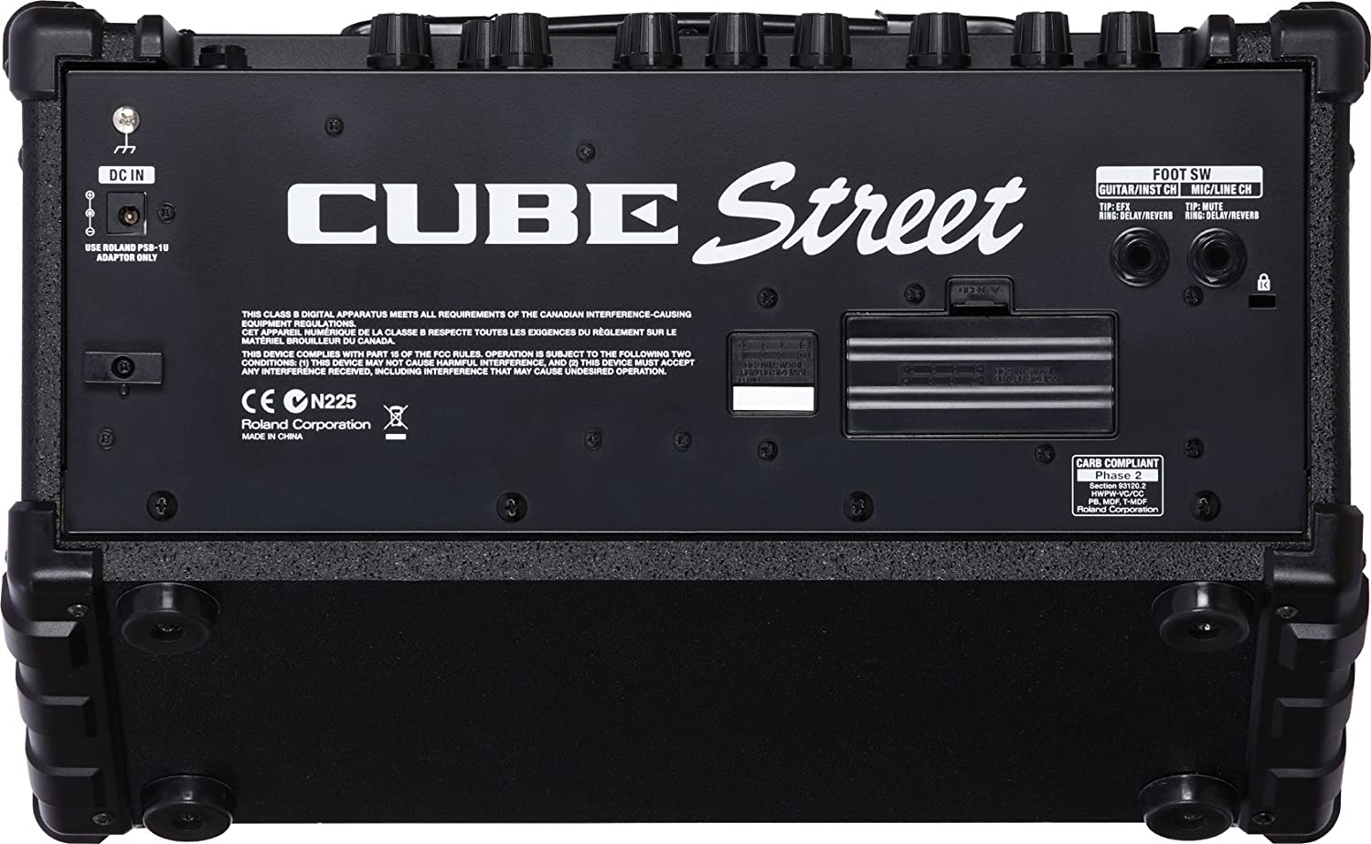 Roland Cube Street Two Channel Battery Powered Stereo Load Cell Amplifier Ldu 691 Specifications Musical Instruments