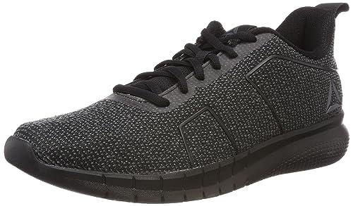 ec94322e9e9 Reebok Men s Instalite Pro Black Ash Grey Running Shoes-8 UK India ...