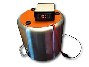 "HeatVac Kettle Companion 10"" - Heated Vacuum Chamber Mod"