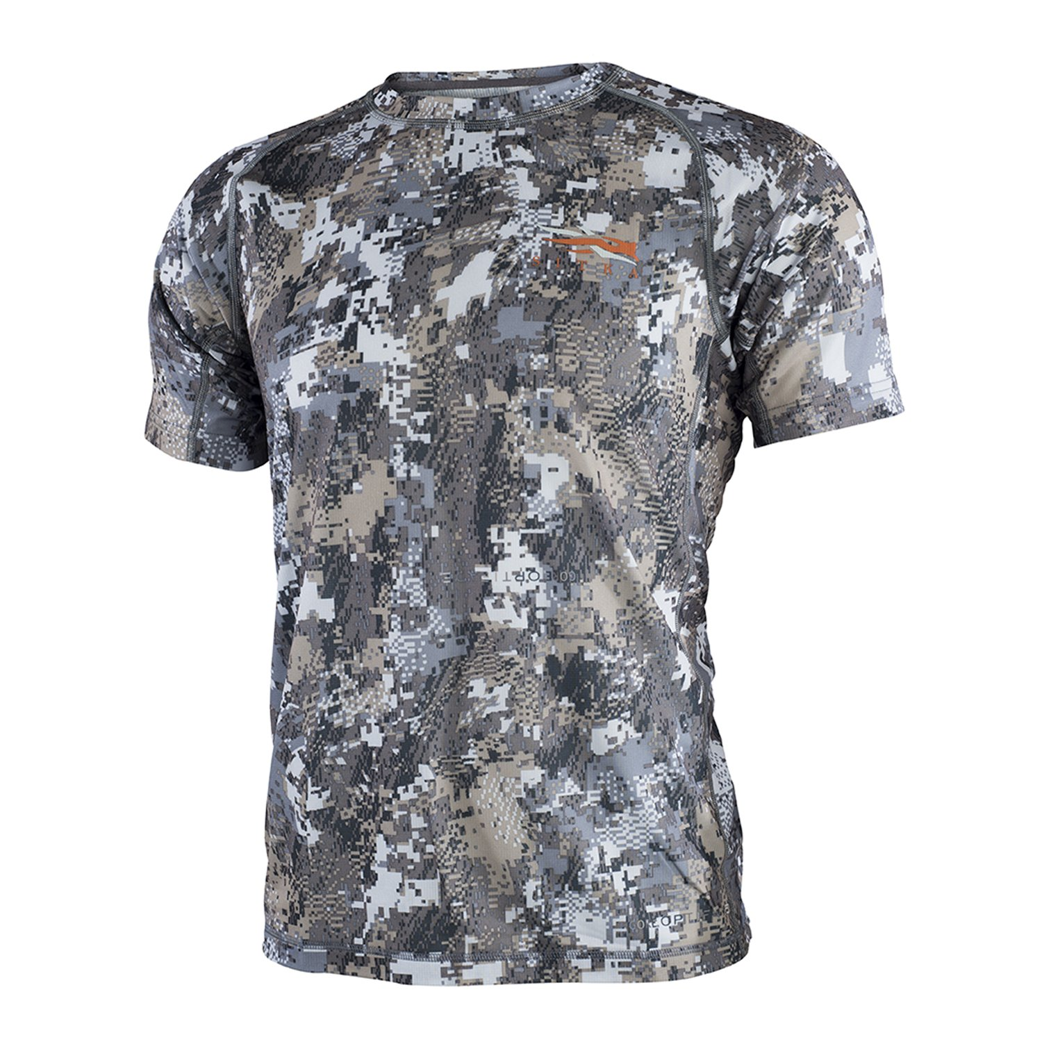 SITKA Gear Core Light Weight Crew - Short Sleeve Optifade Elevated II Small