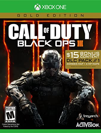 Amazon Com Call Of Duty Black Ops Iii Gold Edition Xbox One