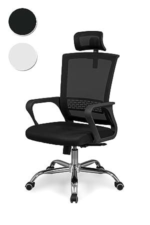Due-home Silla de Oficina ergonomica, Silla para Escritorio o ...