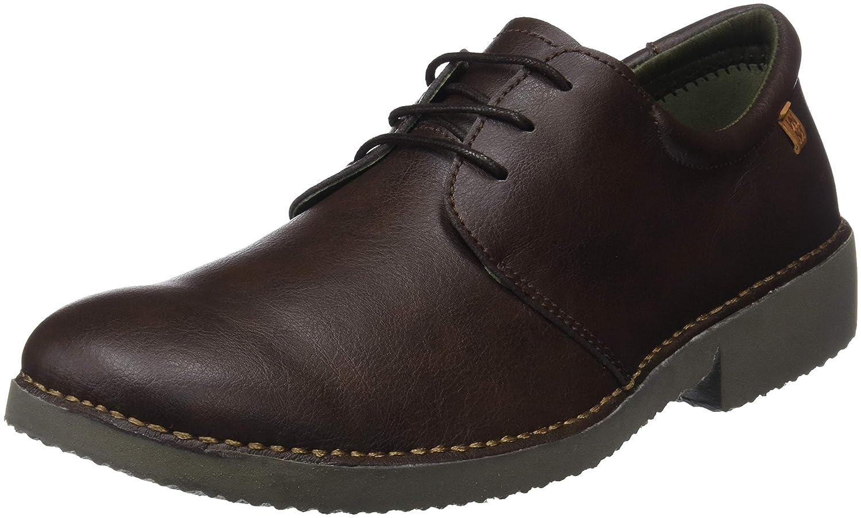 El Naturalista Ng26t Vegan Brown/Yugen, Zapatos de Cordones Derby para Hombre
