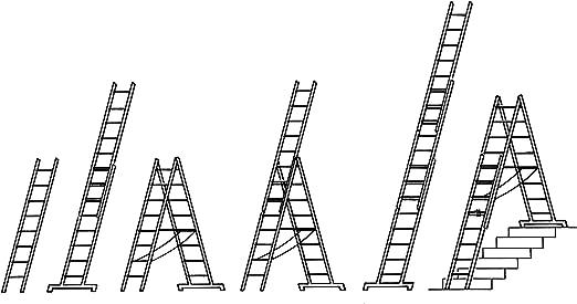 Hymer 4047/3x12 - Escalera multifunción: Amazon.es: Bricolaje y herramientas