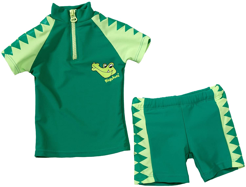 Playshoes - Bikini, bimbo maglietta e pantaloncini unisex Verde (Grün (900 original)) 74/80