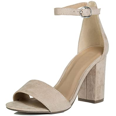 f6b1cb2048b Spylovebuy SASS Women s Open Peep Toe Block Heel Sandals Shoes ...