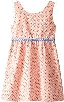Nautica Little Girls' Polka Dot Oxford Dress