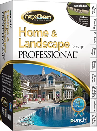 Amazon.com: Home U0026 Landscape Design Professional With NexGen Technology V3