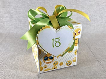 Geschenkbox Originelle Geschenkverpackung Fur Geldgeschenke Zum 18