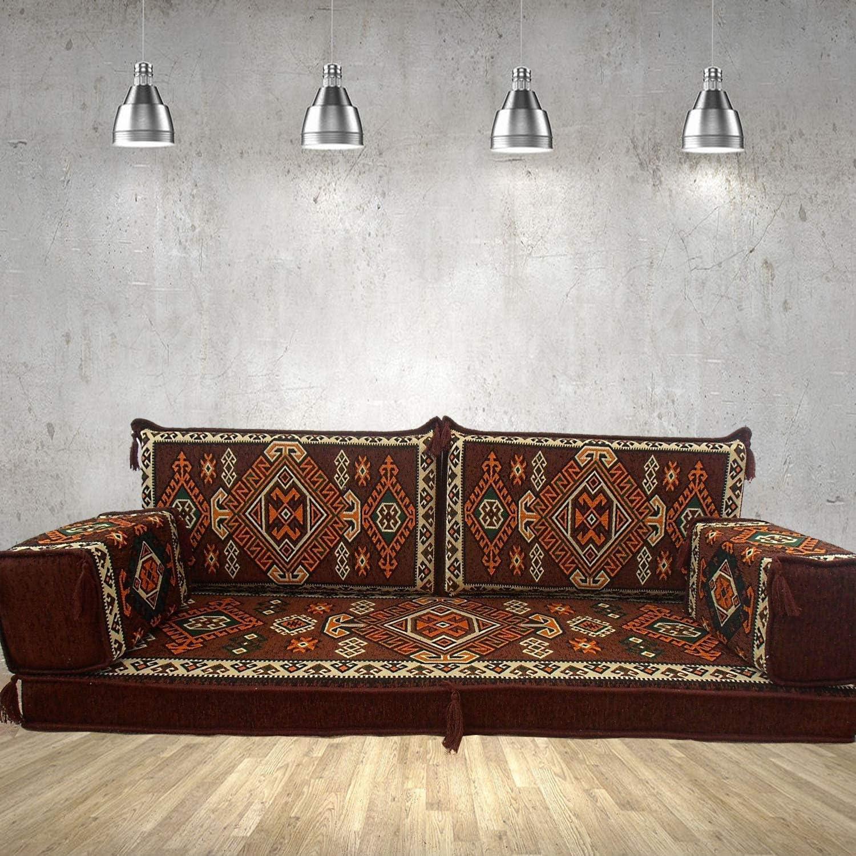 Spirit Home Interiors Bodencouch Sitz Boden Sitz Sofa Boden Couch Ecksofa Eckcouch