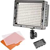 NEEWER® CN-304 304PCS LED Dimmable Ultra High Power Panel Digital Camera / Camcorder Video Light, LED Light for Canon, Nikon, Pentax, Panasonic, SONY, Samsung and Olympus Digital SLR Cameras