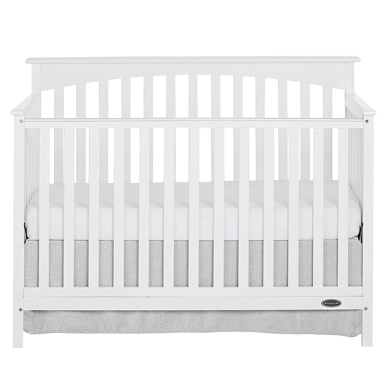 Dream On Me Davenport 5 Piece Convertible Crib, Storm Grey 6655-SG