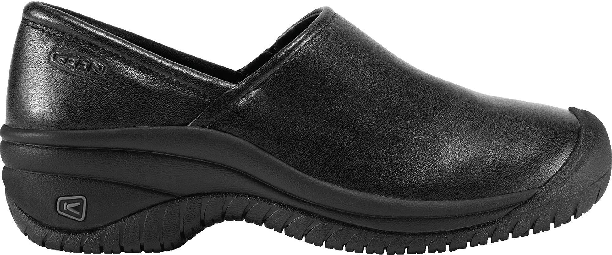KEEN Utility Women's PTC Slip On II Work Shoe,Black,8.5 M US
