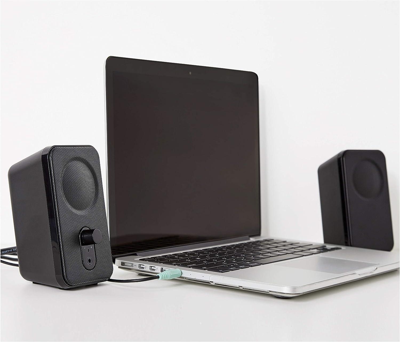 AmazonBasics – Altavoces para ordenador de sobremesa o portátil ...