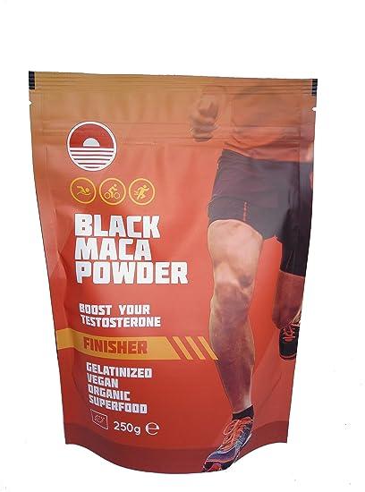 Black Maca Powder Gelatinizada 250G | Suplemento Natural para Testosterona | Mejora el rendimiento atletico |