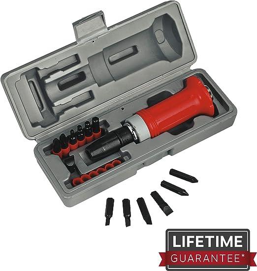 AK2085 Sealey Impact Driver Set 8pc Heavy-Duty Screwdrivers Impact Drivers