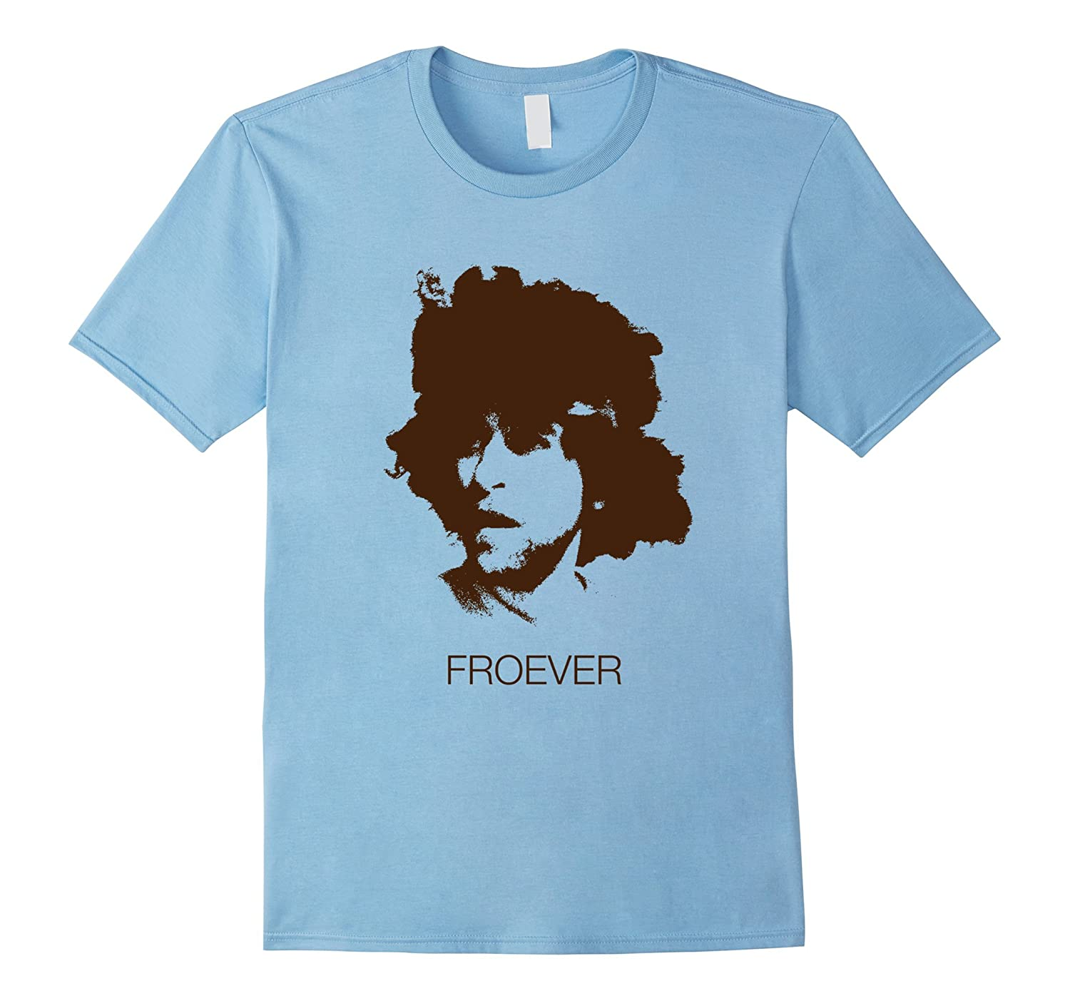 Froever - Funny Epic 70s Tennis Retro Vintage Afro T-Shirt-T-Shirt