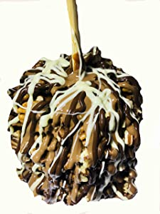 Gourmet Jumbo Caramel Apple (Pecan Triple Chocolate)